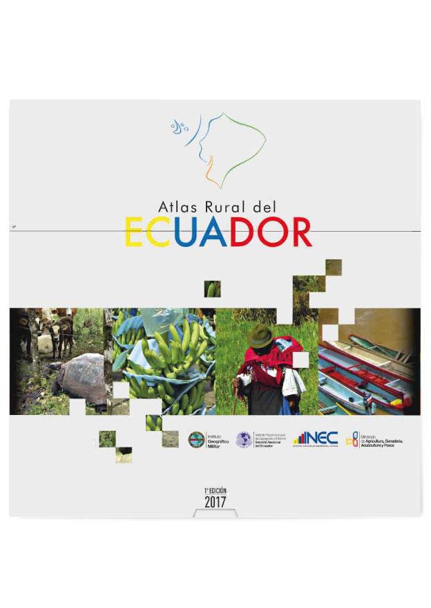 Book Cover: Atlas rural del Ecuador