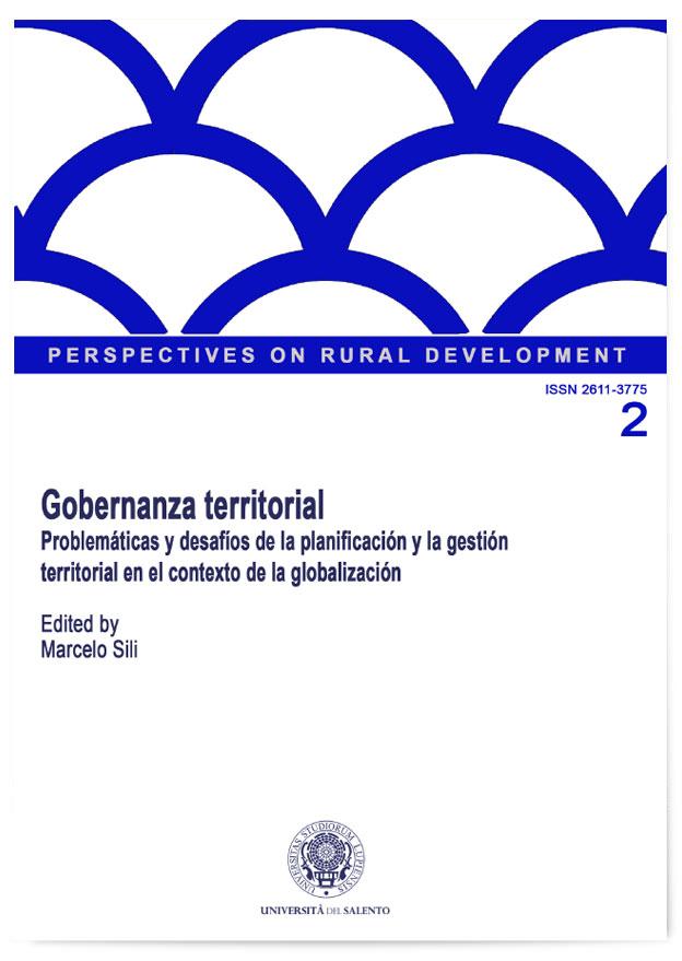 Book Cover: Gobernanza Territorial: Problemáticas y desafíos de la planificación y la gestión territorial en el contexto de la globalización